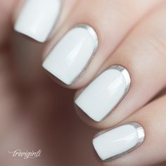 Treviginti | OPI push and shove ruffian nail art