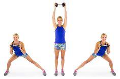 13 moves for totally toned inner thighs! Skinny mom.