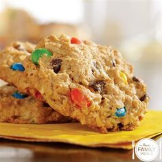 Quick Monster Cookies by The Power of Family Meals