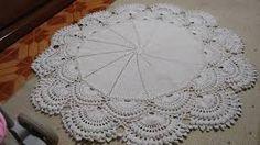 Resultado de imagem para tapetes crochê barroco