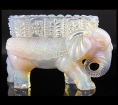 Burtles & Tate Elephant Vase | Second Hand Antiques & Fine Art