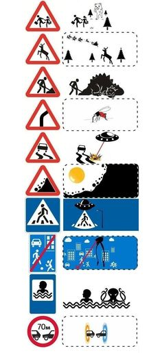 The Real Meaning Behind Different Traffic Signs