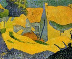 Paul Sérusier, Granja amarilla en Pouldu, colección particular, 1890. Carmen Pinedo Herrero