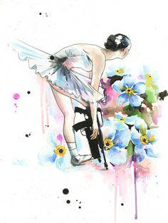 Ballerina by Lora Zombie