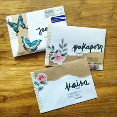 """231 Likes, 20 Comments - Alicia (@lifethroughletters_) on Instagram: """"I made these 3 envelopes last night for letters I have to respond. @milktealetters is ready and I'm…"""""""
