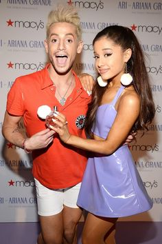 Ariana and Frankie Grande launch unisex fragrance