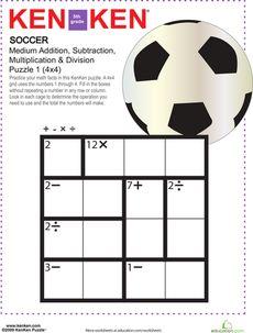 math worksheet : snake kenken® puzzle  puzzles worksheets and problem solving : Math Reasoning Worksheets