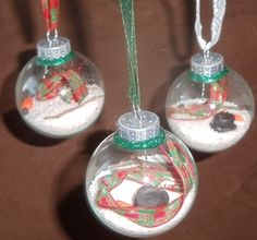 South Florida Snowman Ornaments how to