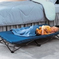 A handy portable cot that can be used indoors or outdoors. | Here's What People Are Buying On Amazon Right Now