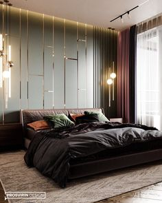 Bedroom black furniture ideas beds 63 Ideas for 2019 Modern Luxury Bedroom, Master Bedroom Interior, Luxury Bedroom Design, Modern Master Bedroom, Luxury Rooms, Luxurious Bedrooms, Bedroom Black, Luxury Sofa, Trendy Bedroom