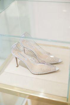 clear wedding shoes #pronoviasmilan
