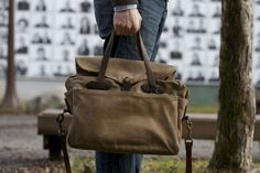 Vintage Filson Briefcase Review07