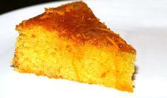 O mais simples e rápido bolo de laranja e coco