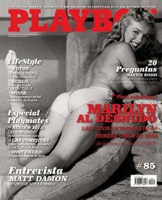 Marilyn Monroe Playboy Magazine Argentina January 2013