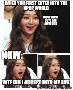 Meme Center | allkpop But got no regrets entering into the Kpop world :D