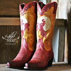 The Laramies | boots by Wild Bleu - #CowgrilChic