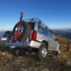ARB Rear Bars with Wheel Carrier   ARB 4x4 Accessories from Arbil4x4