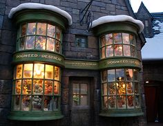 Harry Potter, Dogweed Deathcap shop