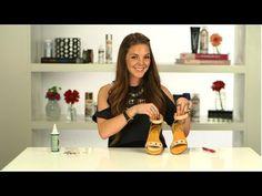 DIY Fashion, Rhinestone Sandals