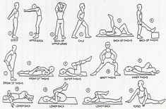 Take a few minutes before bed to stretch out your entire body. Hold each stretch for about 20 seconds to receive the maximum benefit