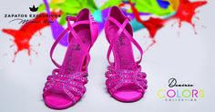 Tus zapatos rosas... Me chiflan!!!!  😊 😍❤️ ❤️ #estrenamoszapatos #elrosaesamable ##meloscomoabesos #locaporloszapatos #MisZapatosDeColores #amorporelbaile #danielydesireecollection #shoes #newbrandshoes #hechosamano #zapatosexclusivos #quierobailar #LosQuieroTodos #DesireeColoros #Bachata Desiree Guidonet DanielyDesirée Spain Bachata Spain