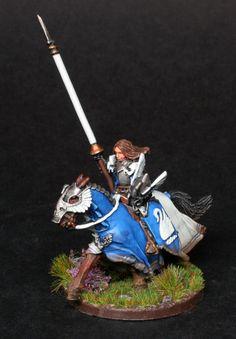 https://flic.kr/p/zwU4my | Lothíriel of Dol Amroth mt4 | Converted Dol Amroth Captain from GWs LOTR