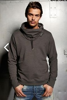 Funnel Neck Men Fashion Zip Up Hoodie Shut up and take my money ...