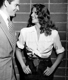 Tyrone Power and Rita Hayworth