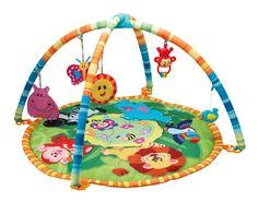 Mata edukacyjna dla niemowląt interaktywna SMILY PLAY DŻUNGLA