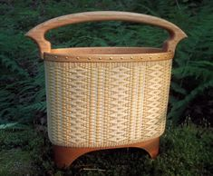 Morning Song by Eric Taylor - Black ash and cherry. Just an incredible basket.