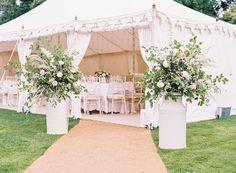 ideas garden wedding tent english country for 2019 English Country Manor, English Country Weddings, Country Garden Weddings, Vintage Country Weddings, French Country, Marquee Wedding, Tent Wedding, Wedding Ceremony, Wedding Blog