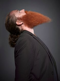 Whacky, Humorous Portraits From The National Beard And Mustache Championships - DesignTAXI.com