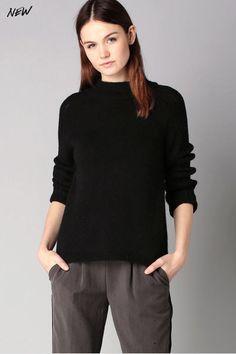 Pull laine noir Suzanne Sud Express prix Pull Femme Monshowroom 85.00 €
