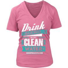 Drink Clean Water | V Neck