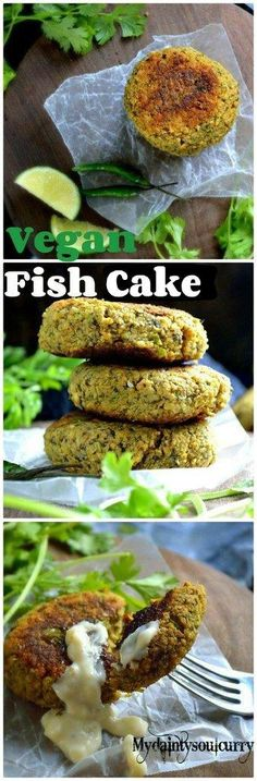 Make this vegan fish cake inspired from the traditional Thai fish cake recipe. It's vegan, gluten-free and loaded with so many enticing flavors.