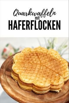 Quark-Haferflocken-Waffeln (Healthy Dessert Recipes)