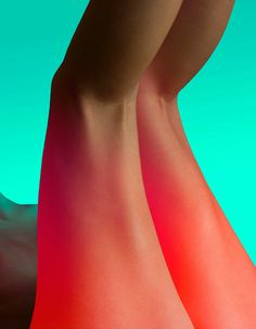 Neon Colors: Cosmic Fashion Photography by Slava Semeniuta #inspiration #photography