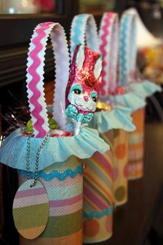 Starting to think about Easter time!  These are a cute idea for co-workers or even friends/family.