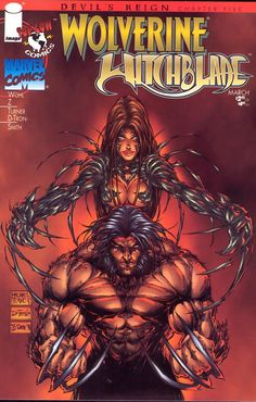 Wolverine & Witchblade - Michael Turner