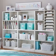 beautiful craft room storage