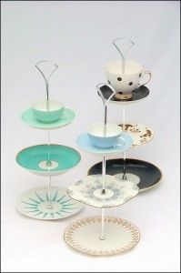 Cute with the tea cups on the top.