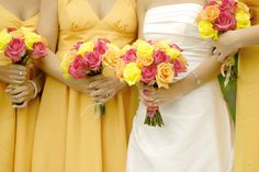 Wedding theme color-yellow-