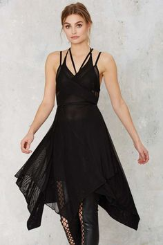Nasty Gal Risk It All Sheer Wrap Dress | Shop Clothes at Nasty Gal!