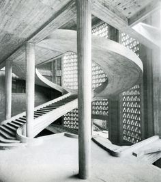 Musee des Travaux Publics, Auguste Perret, Paris, 1936-46