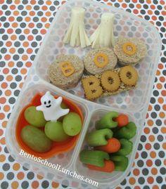 Boo-tiful Halloween Lunch Idea!  BentoSchoolLunches.com