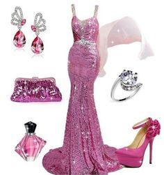 Awesome Prom Dresses Find More: www. Source by iamaddictedtoyou da festa Elegant Dresses, Pretty Dresses, Beautiful Dresses, Casual Dresses, Fashion Dresses, Awesome Dresses, Vestidos Plus Size, Vogue, Gala Dresses