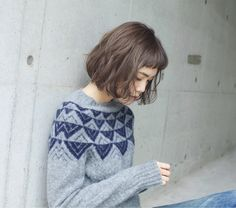 くせ毛風パーマ Short Hair With Bangs, Haircuts With Bangs, Short Hair Cuts, Short Bob Hairstyles, Carre Haircut, Hair Inspo, Hair Inspiration, Shot Hair Styles, Shirt Hair