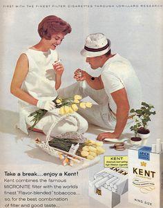 Kent Cigarettes 1950s