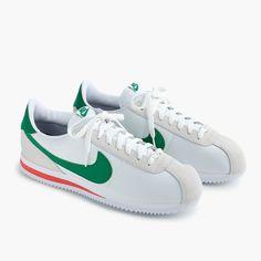 c0c3d66f5ec13 Nike® Cortez sneakers in white nylon