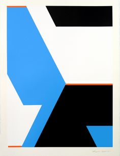 weissesrauschen:  Modernist Geometric Abstract Paintings: Bryce Hudson - New works - 2011 (#2) by brycehudson on Flickr.